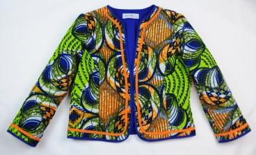 African print jkt